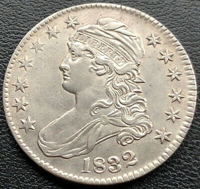 1832 Capped Bust Half Dollar 50c High Grade UNC Details #20615