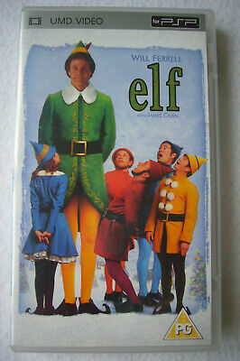 GREAT - ELF film (UMD video / disc for Sony PSP) with Will Ferrell & James Caan