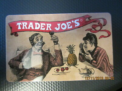 FRUIT & WINE  TRADER JOE'S  swap trade collect NO VALUE GIFT CARD 2
