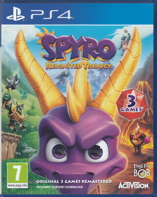 Spyro Reignited Trilogy | PlayStation 4 | Boxed & Complete | MINT | PS4