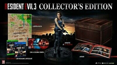 Resident Evil 3 Nemesis Remake Collector's Edition (Pal Ita) Ps4