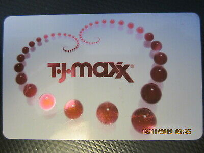 HEART  T J MAXX swap trade collect NO VALUE GIFT CARD 4