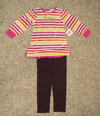 Juicy Couture Baby Girls 2 Piece Legging Set - Size 18-24 Months - NWT