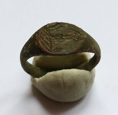 Authentic Medieval Viking Era Bronze Ring VERY RARE uncleaned