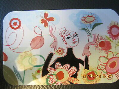 OUT IN THE FLOWER GARDEN   TARGET  swap trade collect NO VALUE GIFT CARD 7