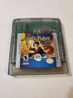 Harry Potter and the Chamber of Secrets Nintendo Game Boy Color, 2002 tested GB