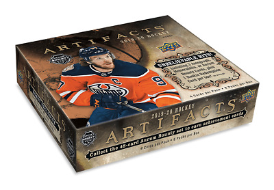 2019-20 Ud Artifacts Hockey Cards, Pick Any Card For 0.99