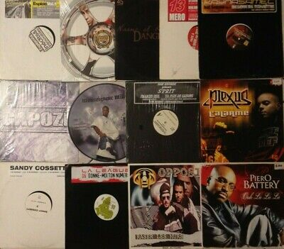 Lot Disques Maxi Special Hip Hop - Rap Francais