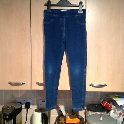 Lovely Blue Jeans For Girls Aged 8-9 Years In Clean Condition