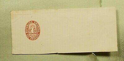 DR WHO URUGUAY UNUSED STATIONERY WRAPPER f03323