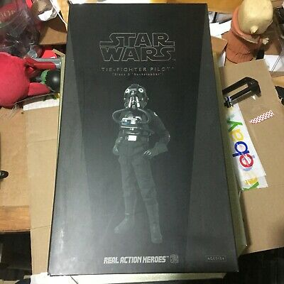 "Sideshow Star Wars Tie-Fighter Pilot Action Figure Exclusive 12"" Hot Toys"