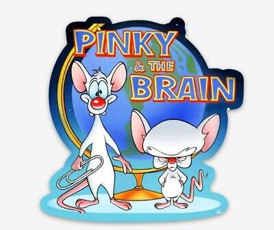 Pinky and the Brain Animated TV Series Are You Pondering Refrigerator Magnet NEW