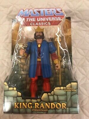 Masters of The Universe Classics King Randor Brand New