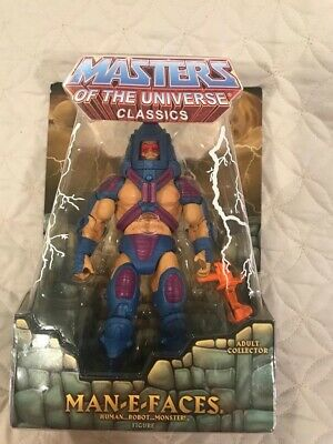 Masters of The Universe Classics Man-E-Faces Brand New