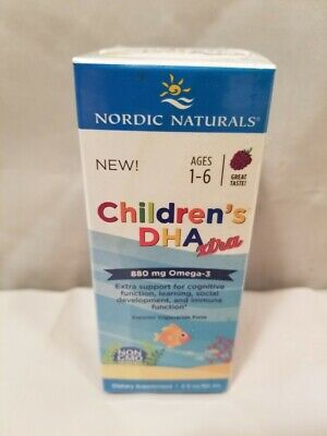 Nordic Naturals Children's DHA Xtra, 880 Mg Omega-3 Fish Oil, Berry 2oz