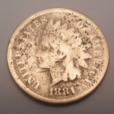 Penny  SDS  **FREE SHIPPING** 1890 P Indian Head Cent