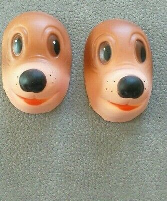 Animal Dog Rubber Faces For Crafts