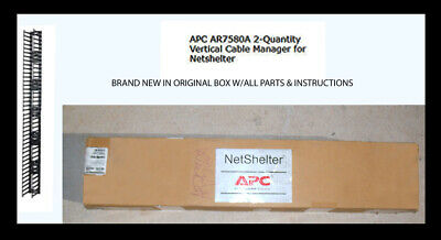 New APC Horizontal Cable Manager AR8600