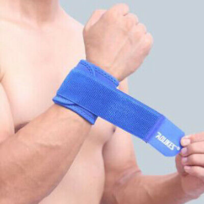 Fitness Wrist Protector Band Support Strap Bandage Adjustable Sport Gym Exercise