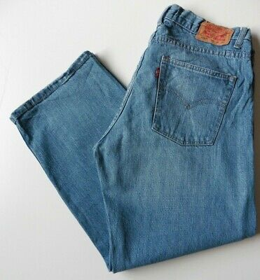 Men's Boys' Levis 550 Relaxed Fit Jeans W33 L28 Blue Levi Strauss Size 33S
