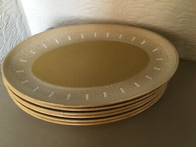 Vintage Denby Ode Oval Meat Dinner Plate-6 available #6014