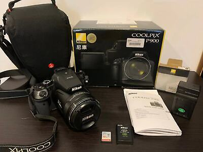 Nikon COOLPIX P900 Digital Camera with 83x Optical Zoom and Built-In Wi-Fi