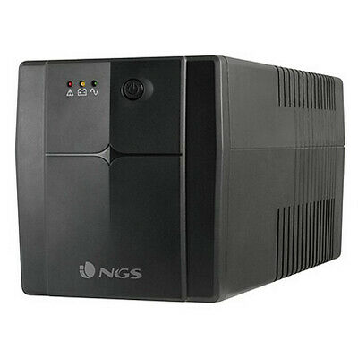 SAI Off Line NGS FORTRESS1500V2 UPS 720W Negro