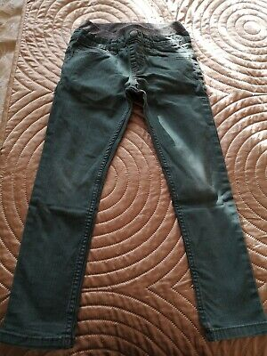 Boys Green Jeans 5-6 Years