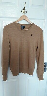 Boys Polo Ralph Lauren Jumper/Pullover Size Youth XL ( 18-20 )