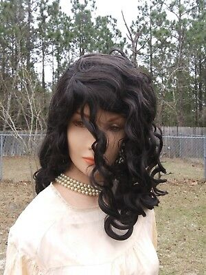 Lacey Yellow Economy Bart Simpson Curly Spiky Costume Wig