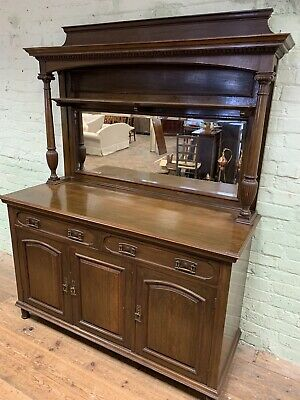 Vintage Antique Arts And Crafts Oak Dresser . Delivery Available Most Areas