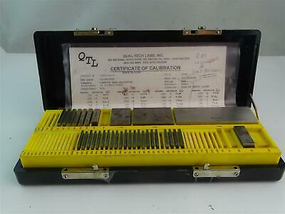 Do All  Mitutoyo Incomplete Gage Block Set  , 34-R