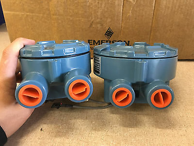 Rosemount Emerson 848T Temperature Transmitter in Weather Proof Junction Box