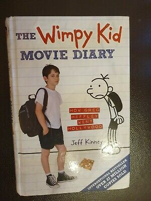 The Wimpy Kid Movie Diary: How Greg Heffley Went Hollywood by Jeff Kinney (Hard…