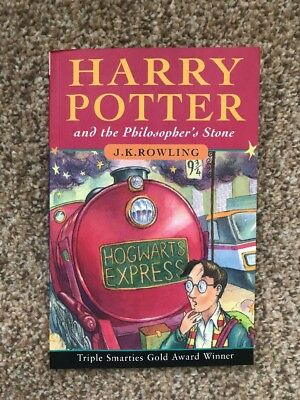 Harry Potter & The Philosopher's Stone 1st First Edition 60th Print PB 1997