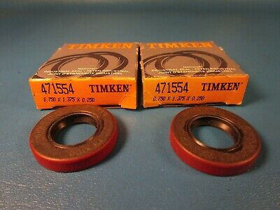 Dual Lip with One Spring Timken Seal 474134