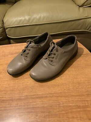 Hotter Comfort Concept Brown Peanut Womens Lace Up Shoes Size 5