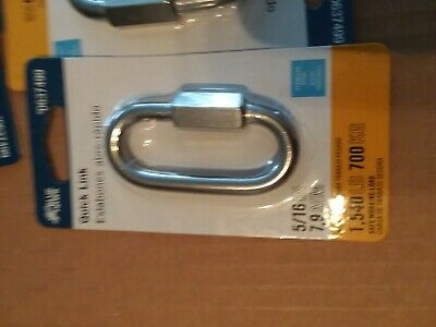 "5/16 "" stainless steel quick link  X  10"