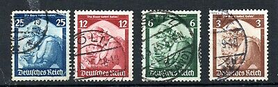 Germany (5241)  1935 SAAR Restoration set used Sg562-5