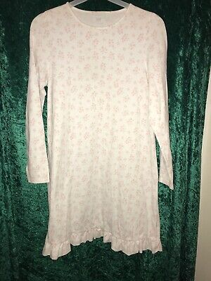 Girls Little White Company Nightdress Age 11 To 12 Offered In Pristine Condition