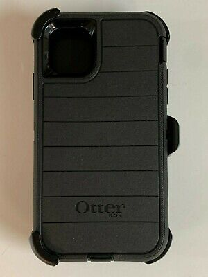 Otterbox Defender Pro Series Case Cover for Apple iPhone 11 with Holster Black