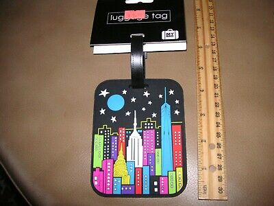 REDUCED! Nice MY BAG Luggage Tag With Hidden Address Panel NWT $10