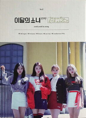 MONTHLY GIRL YYXY [BEAUTY&THEBEAT] Mini Album NORMAL CD+POSTER+Photo Book+Card