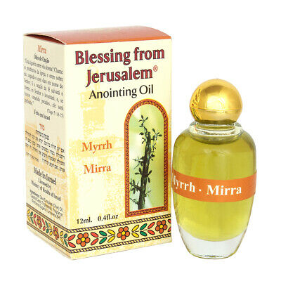 Aromatic Anointing Oil Mirrh Biblical Spices Holy Land 0.4fl.oz/12ml by Ein Gedi