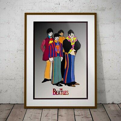 The Beatles Yellow Submarine Poster Framed or Three Print Options NEW EXCLUSIVE