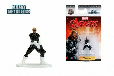 """Marvel Avengers Nano Metal Figs 1.65"""" Nick Fury Die Cast Action Figure Toy New"""