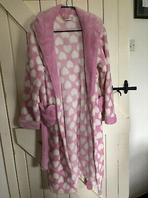 girls dressing gown age 11-12