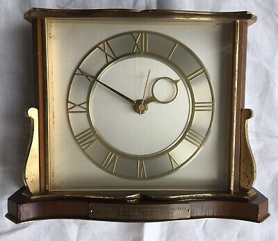 Art Deco Smiths Tempora Tuning Fork (Battery) Clock - Working Order