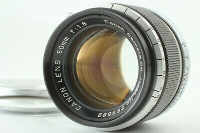 *Exc++++* Canon 50mm F/1.8 LTM Lens For Leica L39 Mount From Japan #612