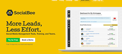 Supercharge your Social Media with SocialBee